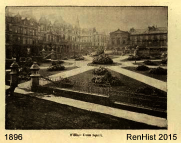 William Dunn Square when opened